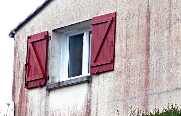 façade parquet rouleau du peintre
